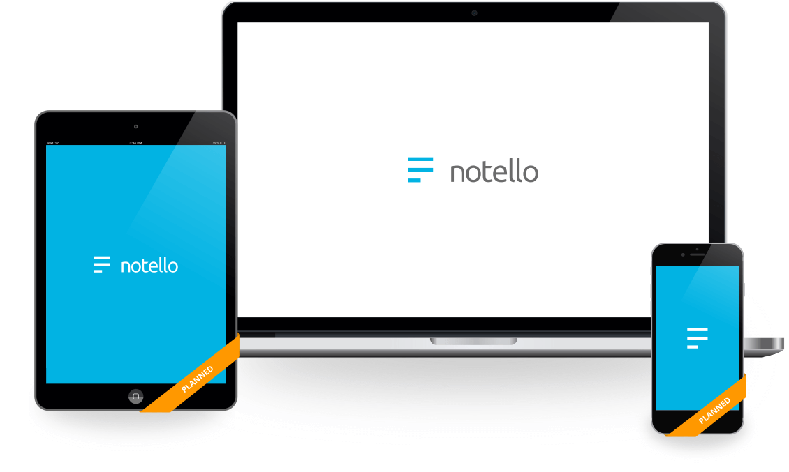 Notello on devices
